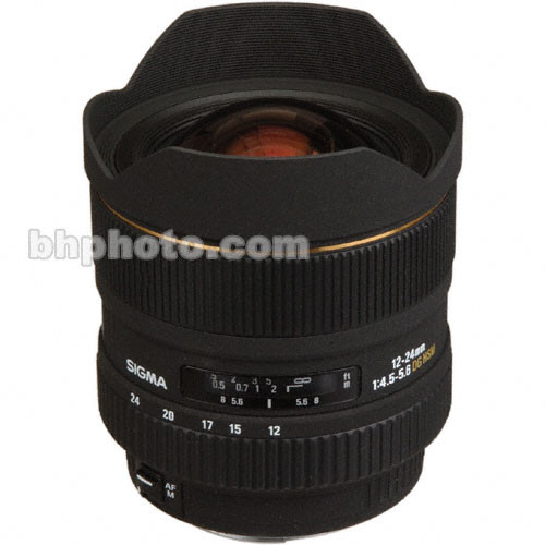 Sigma 12-24mm f/4.5-5.6 EX Aspherical DG HSM Autofocus Lens for Sigma SLR Camera