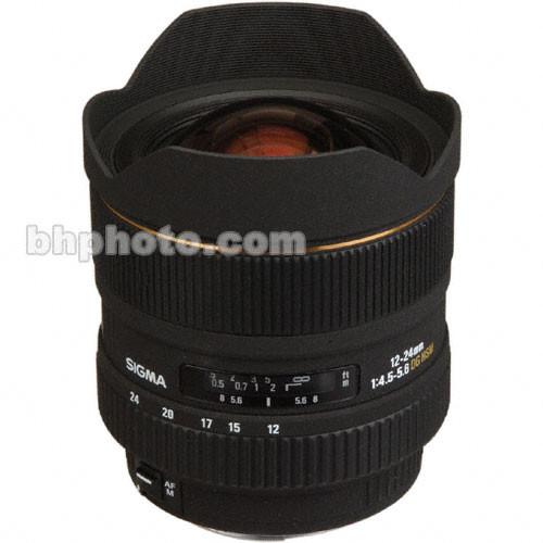 Sigma 12-24mm f/4.5-5.6 (D) AF Lens