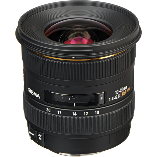 Sigma 10-20mm f/4-5.6 EX DC HSM Lens for Canon EF Mount