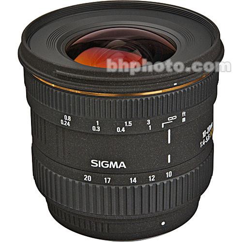 Sigma 10-20mm f/4-5.6 EX DC J Autofocus Lens for Pentax Digital SLR Cameras