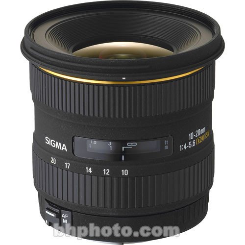 Sigma 10-20mm f/4-5.6 EX DC HSM Autofocus Lens for Sigma Digital SLR Camera