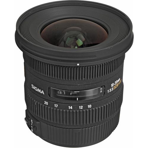 Sigma 10-20mm f/3.5 EX DC HSM Autofocus Zoom Lens For Canon Cameras
