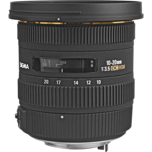 Sigma 10-20mm f/3.5 EX DC HSM Autofocus Zoom Lens for Pentax