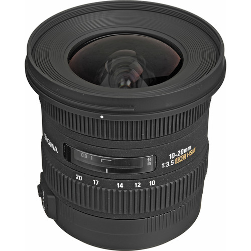 Sigma 10-20mm f/3.5 EX DC HSM Lens for Sony A