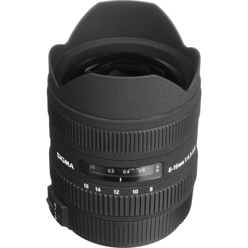 Sigma 8-16mm f/4.5-5.6 DC HSM Ultra-Wide Zoom Lens for Sony/Minolta Digital SLR