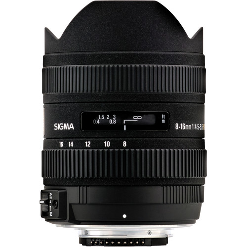 Sigma 8-16mm f/4.5-5.6 DC HSM Lens for Nikon F