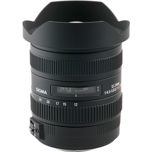 Sigma 12-24mm f/4.5-5.6 DG HSM II Lens (For Pentax)