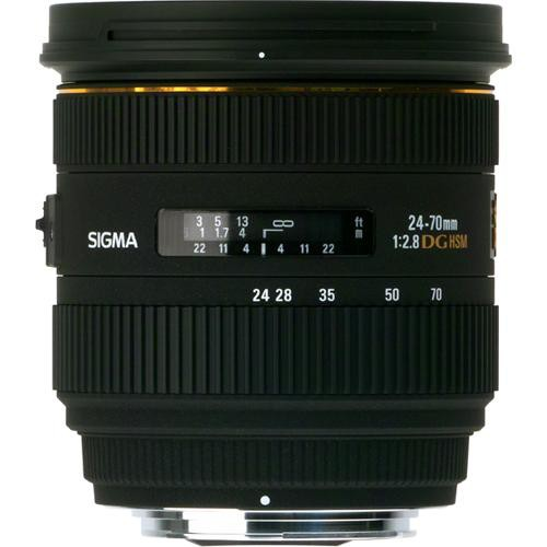 Sigma 24-70mm f/2.8 IF EX DG HSM Lens for Sigma SA