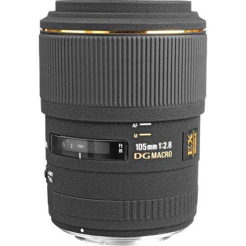Sigma 105mm f/2.8 EX Macro Autofocus Lens for Olympus Digital Camera