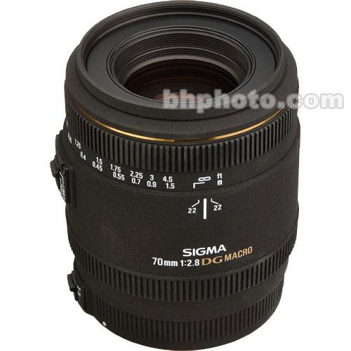 Sigma Telephoto 70mm f/2.8 EX DG Macro Autofocus Lens for Sony Alpha & Minolta Maxxum Series