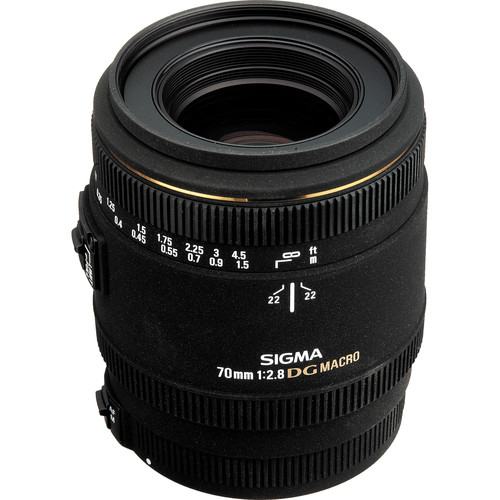 Sigma Telephoto 70mm f/2.8 EX DG Macro Autofocus Lens for Nikon AF