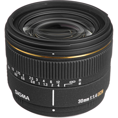 Sigma Normal 30mm f/1.4 EX DC Autofocus Lens for Pentax Digital SLR Cameras