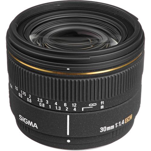 Sigma 30mm f/1.4 EX DC Autofocus Lens for Pentax Digital