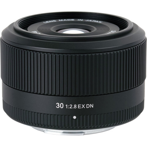Sigma 30mm f/2.8 EX DN Lens for Micro 4/3 Format