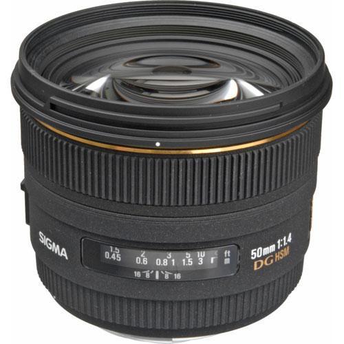 Sigma 50mm f/1.4 EX DG HSM Lens for Sigma SA