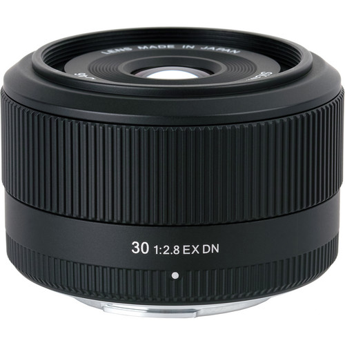 Sigma 30mm f/2.8 EX DN Lens for Panasonic/Olympus Micro 4/3 Cameras