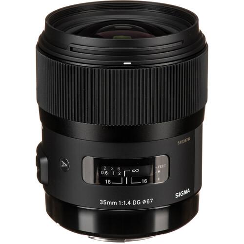 Sigma 35mm f/1.4 DG HSM Art Lens for Sigma DSLR Cameras