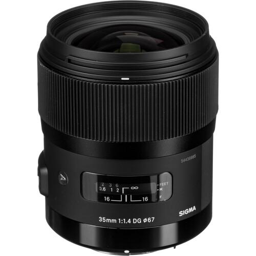 Sigma 35mm f/1.4 DG HSM Art Lens for Pentax K