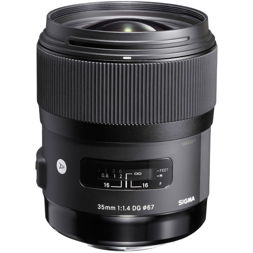 Sigma 35mm f/1.4 DG HSM Art Lens for Sony DSLR Cameras