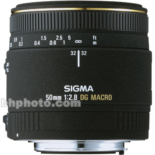Sigma 50mm f/2.8 EX DG Macro Autofocus Lens for Sigma SLR Camera