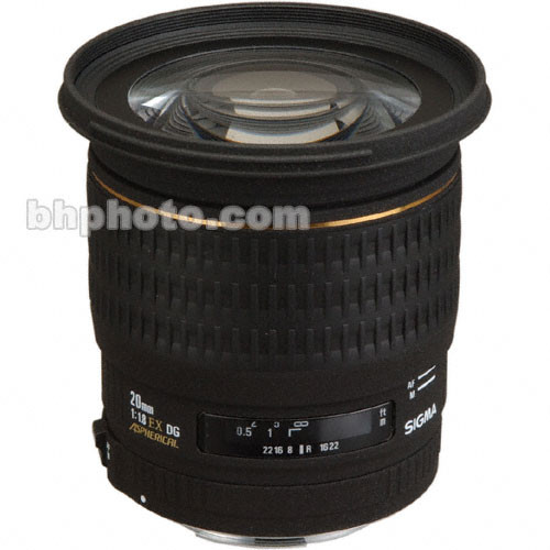 Sigma 20mm f/1.8 EX Aspherical DG DF RF Autofocus Lens for Sigma SLR Camera