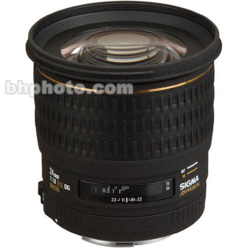 Sigma 24mm f/1.8 (D) EX Aspherical DG DF Macro AF Lens