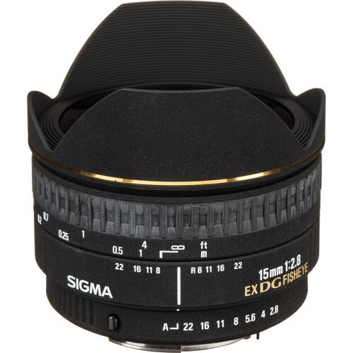 Sigma 15mm f/2.8 EX DG Diagonal Fisheye Lens for Pentax K