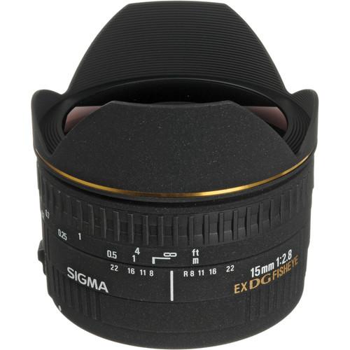 Sigma 15mm f/2.8 EX DG Diagonal Fisheye Autofocus Lens for Sigma SLR Camera