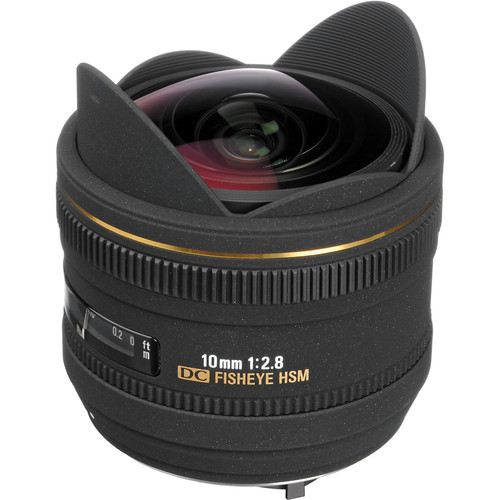 Sigma 10mm f/2.8 EX DC HSM Fisheye Lens for Pentax Digital Camera