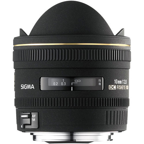Sigma 10mm f/2.8 EX DC HSM Fisheye Lens for Sigma Digital Camera