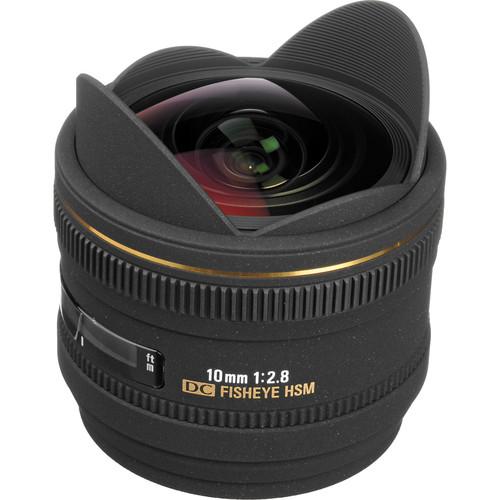 Sigma 10mm f/2.8 EX DC HSM Fisheye Lens for Sony Alpha Camera