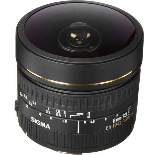 Sigma 8mm f/3.5 EX DG Circular Fisheye Lens for Sigma SA