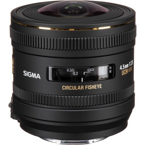 Sigma 4.5mm f/2.8 EX DC HSM Circular Fisheye Lens for Sony A