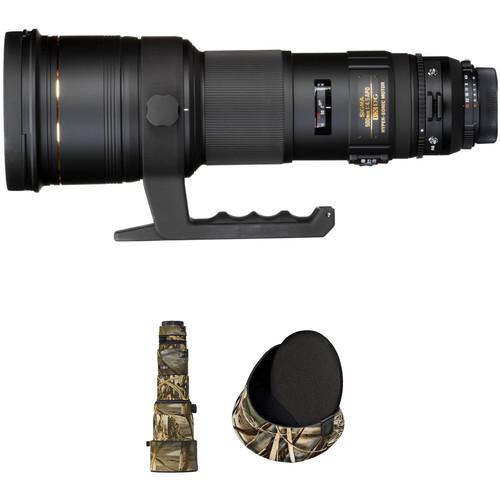 Sigma 500mm f/4.5 EX DG APO HSM Autofocus Lens for Nikon AF Lens Kit A