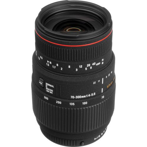 Sigma 70-300mm f/4-5.6 APO DG Macro Autofocus Lens for Pentax AF