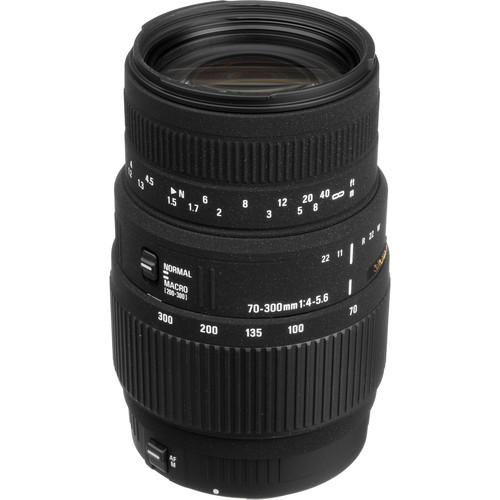 Sigma 70-300mm f/4-5.6 DG Macro Lens for Canon EOS