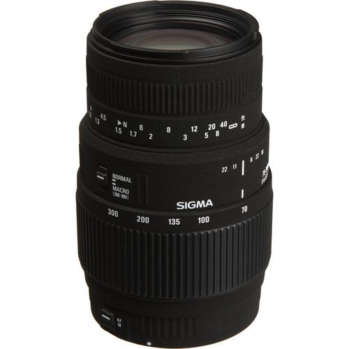 Sigma 70-300mm f/4-5.6 DG Macro Autofocus Lens for Sigma Cameras