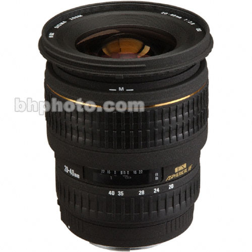 Sigma 20-40mm f/2.8 (D) EX Aspherical DG DF AF Lens
