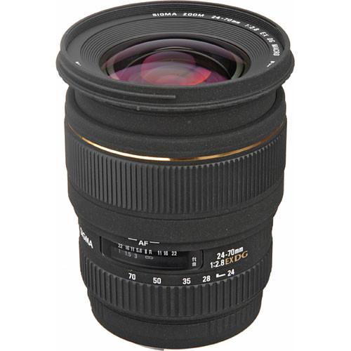 Sigma 24-70mm f/2.8 EX DG Macro DF Autofocus Lens for Canon EOS