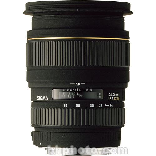 Sigma 24-70mm f/2.8 (D) EX DG Macro DF Autofocus Lens for Sony SLR & Minolta Maxxum Series
