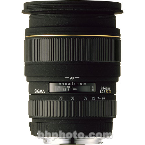 Sigma 24-70mm f/2.8 EX DG Macro DF Autofocus Lens for Nikon AF-D