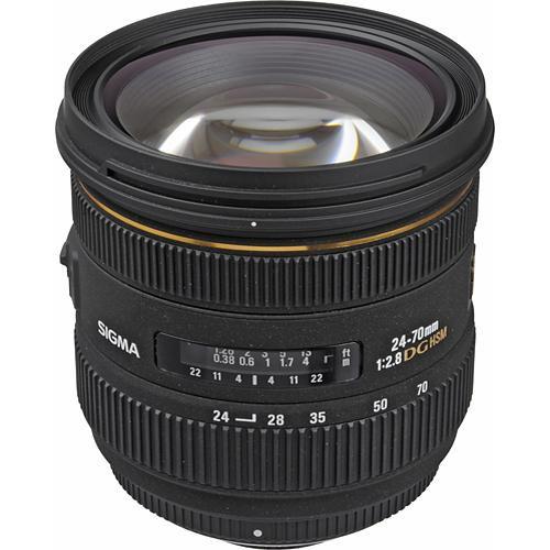 Sigma 24-70mm f/2.8 IF EX DG HSM Lens for Nikon F