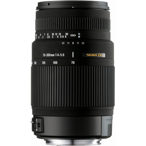 Sigma 70-300mm f/4-5.6 DG OS Lens for Canon Digital Cameras