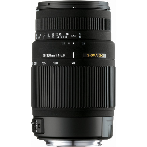Sigma 70-300mm f/4-5.6 DG OS Lens for Nikon Digital Cameras