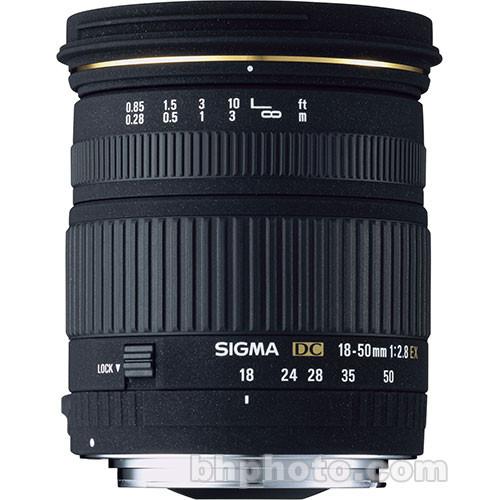 Sigma 18-50mm f/2.8 EX DC Macro Lens for Olympus (4/3 System)