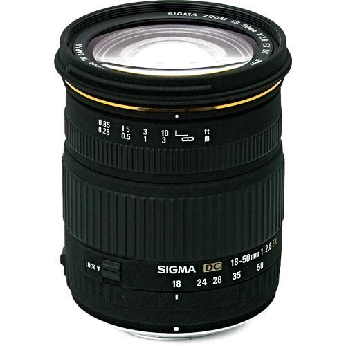 Sigma 18-50mm f/2.8 EX DC Macro Lens for Pentax Digital SLR