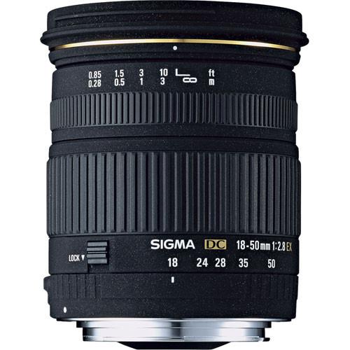 Sigma 18-50mm f/2.8 EX DC Macro Lens