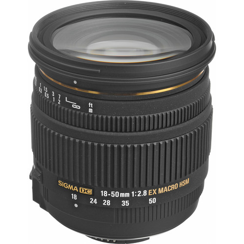 Sigma 18-50mm f/2.8 EX DC HSM Macro Lens for Nikon Digital SLR
