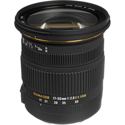 Sigma 17-50mm f/2.8 Auto Focus Wide Angle Zoom Lens
