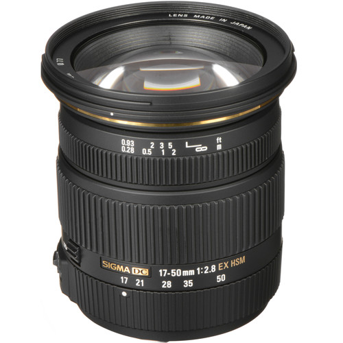 Sigma 17-50mm f/2.8 EX DC HSM Lens for Sony A